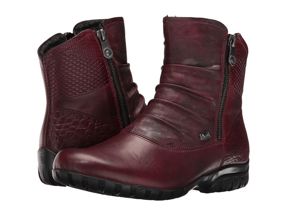 Rieker - Z4663 (Medoc/Burgundy) Women's Boots