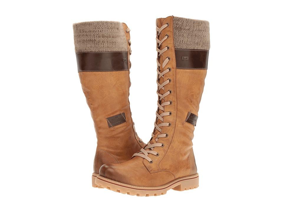 Rieker - Z1442 (Muskat/Kastanie/Stein) Women's Boots
