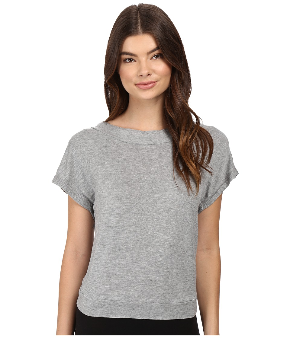 Betsey Johnson French Terry Sweatshirt (Grey Heather) Women