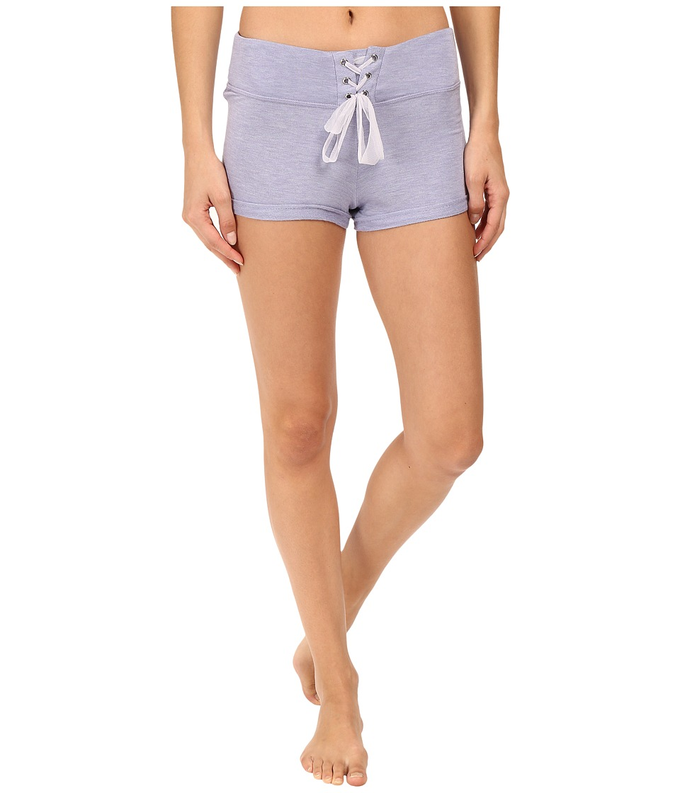 Betsey Johnson - French Terry Shorts (Blue Iris Heather) Women's Pajama