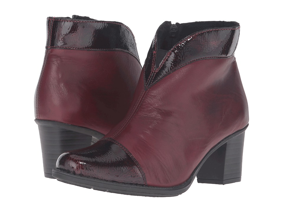 Rieker - Z7664 (Bordeaux/Medoc) Women's Dress Boots