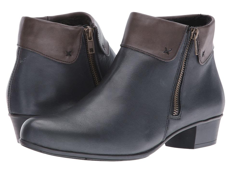 Rieker - D3572 Alani 72 (Lake/Graphit) Women's Boots