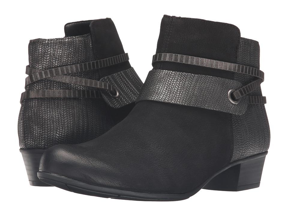 Rieker - D3575 Alani 75 (Schwarz/Schwarz Silber/Alts Talamon/Tracker/Posen) Women's Boots