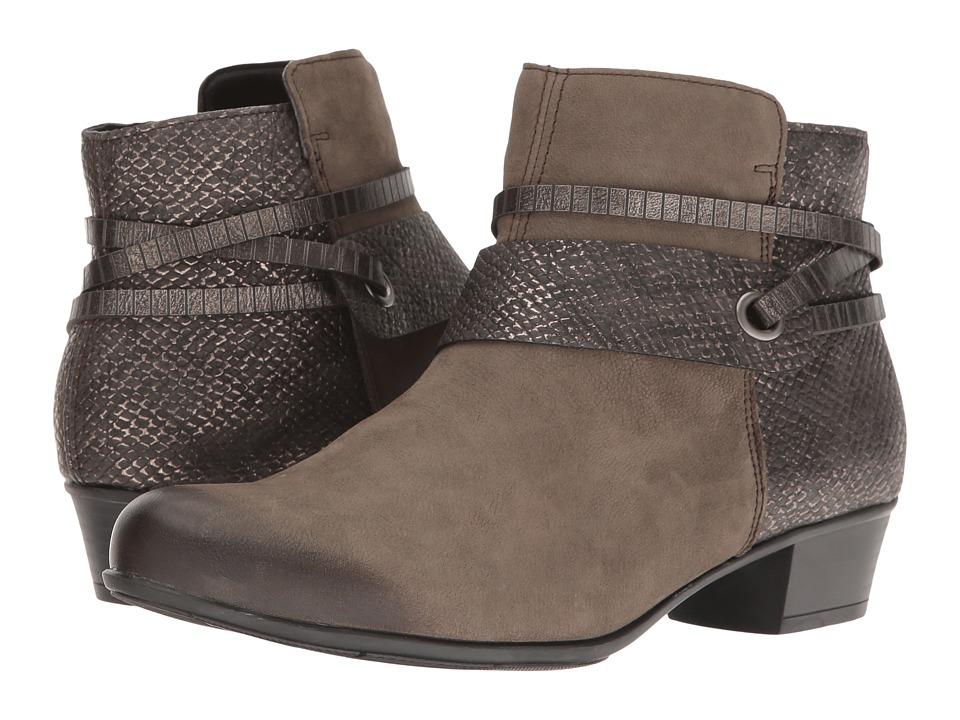 Rieker - D3575 Alani 75 (Bisam/Stromboli/Altsilber) Women's Boots