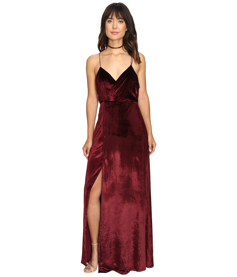 The Jetset Diaries - Atlas Maxi Dress (Oxblood) Women's Dress