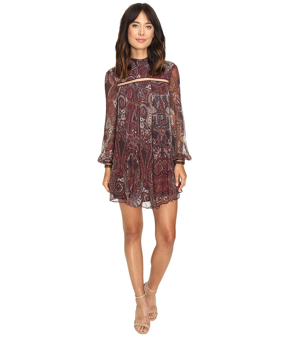 The Jetset Diaries - Labyrinth Mini Dress (Labyrinth Paisley) Women's Dress