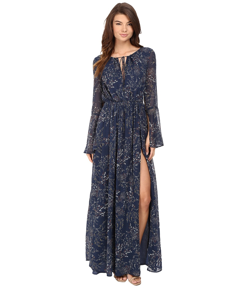 The Jetset Diaries - Mediterranean Maxi Dress (Mediterranean Print) Women's Dress