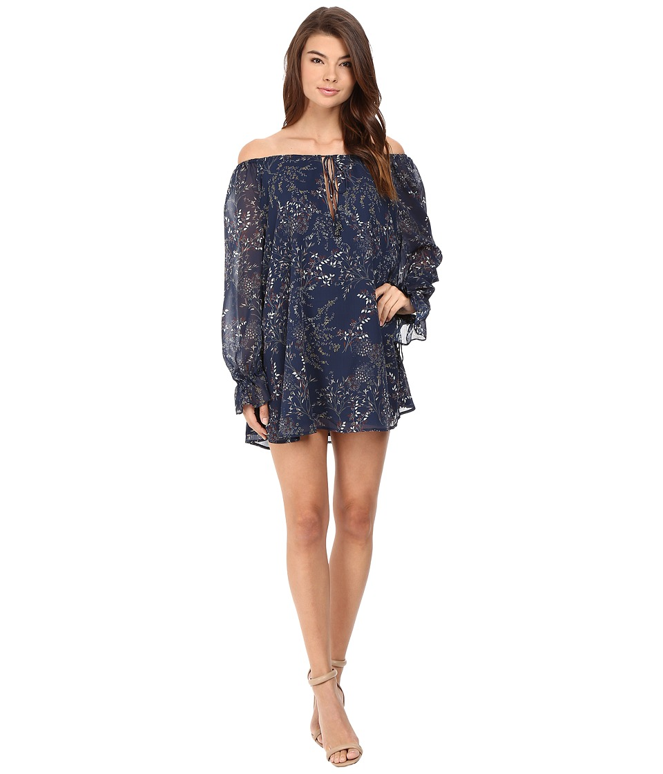The Jetset Diaries - Mediterranean Mini Dress (Mediterranean Print) Women's Dress