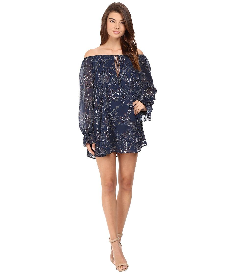 The Jetset Diaries - Mediterranean Mini Dress (Mediterranean Print) Women's Dress