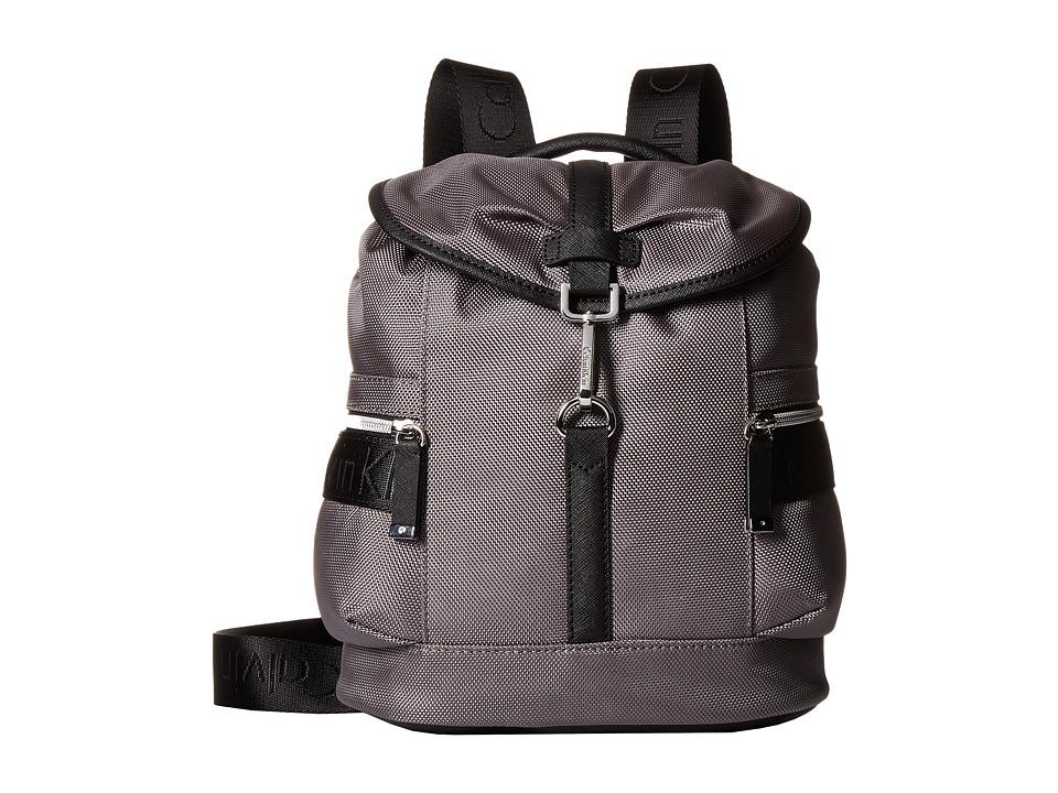 Calvin Klein - CKP Ballistic Backpack (Grey/Black) Backpack Bags