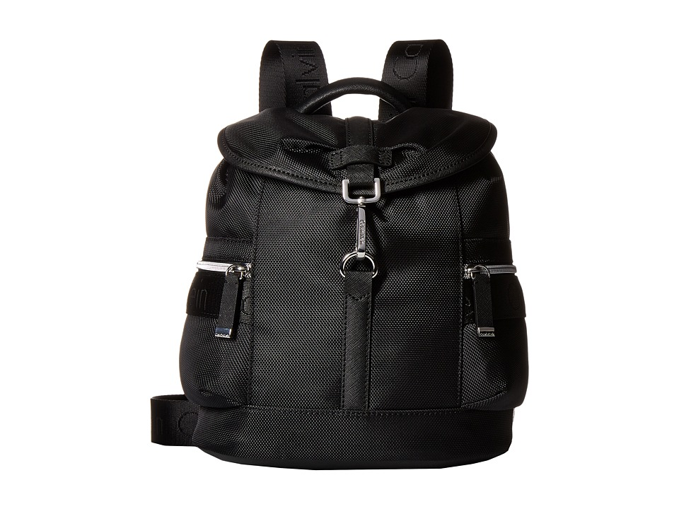 Calvin Klein - CKP Ballistic Backpack (Black/Black) Backpack Bags
