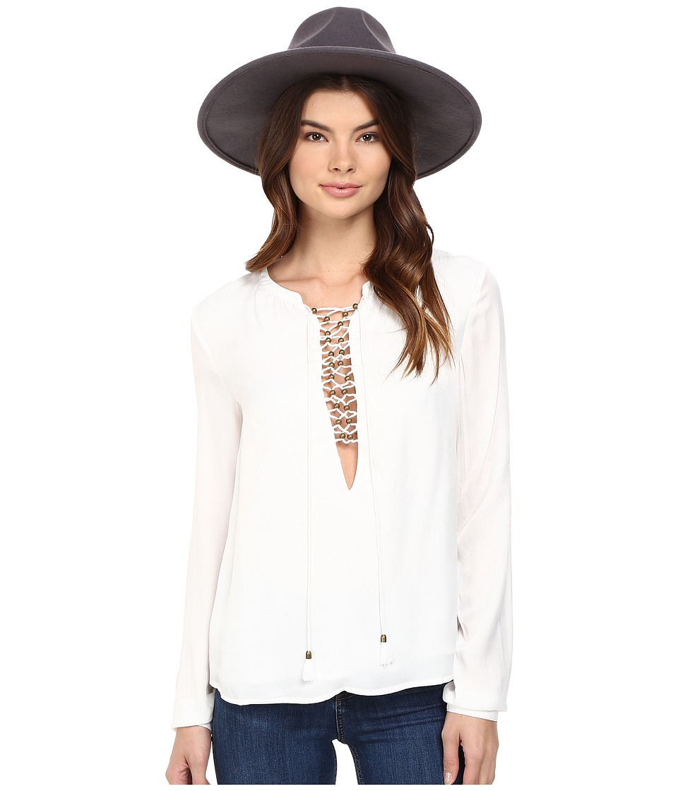 The Jetset Diaries - Souks Top (Ivory) Women's Clothing