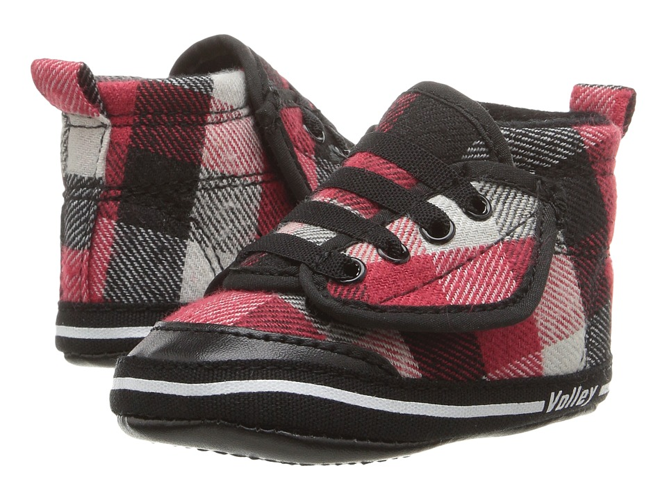 Volley Australia - My First Volley (Infant/Toddler) (Red Plaid) Men's Shoes