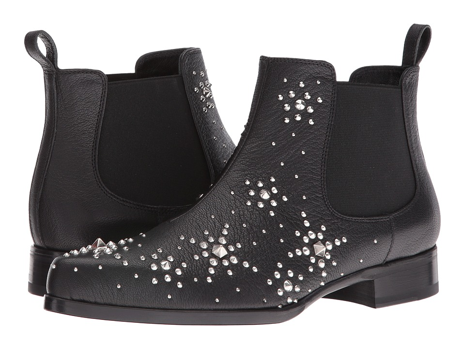 Alexander McQueen - Sti.To Pelle S.Cuoio (Black/Black) Women's Pull-on Boots