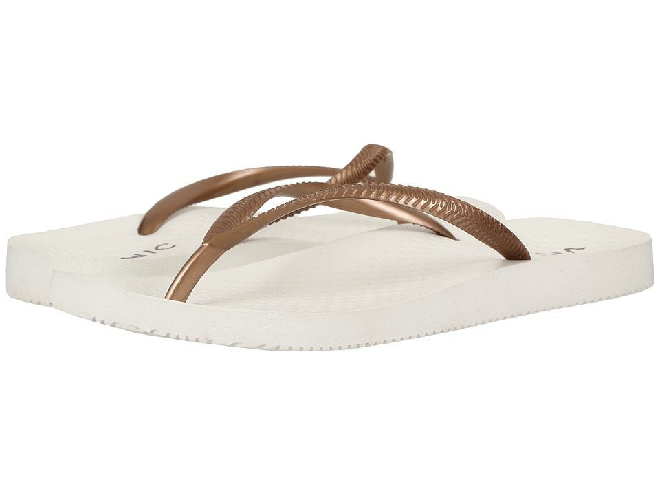 VIONIC - Beach Noosa (White/Bronze) Women's Sandals