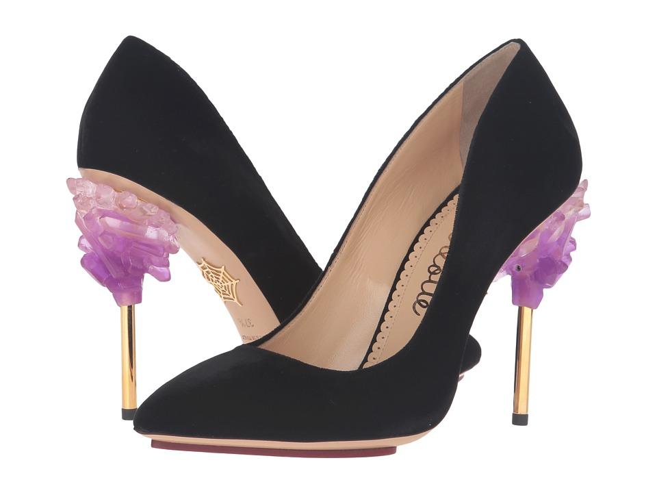 Charlotte Olympia - Cosmic Bacall (Black) High Heels