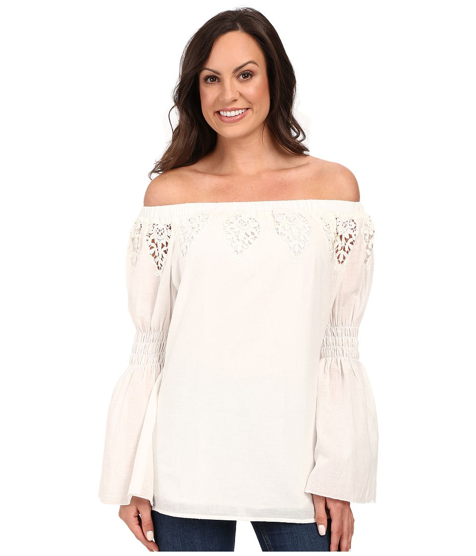 Union of Angels - May Tunic (White) Women's Blouse