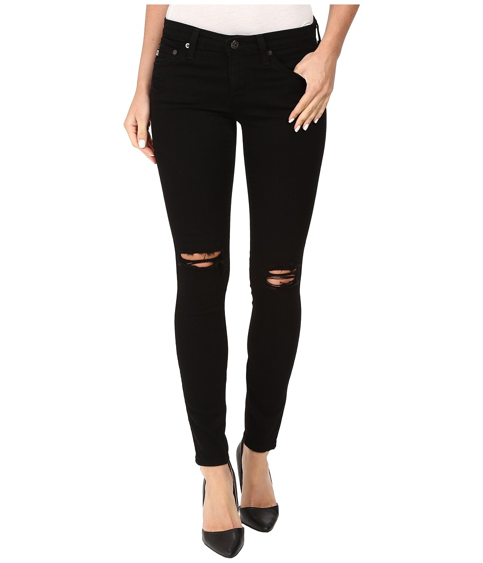 AG Adriano Goldschmied - Leggings Ankle in 1 Year Black Pond (1 Year Black Pond) Women's Jeans
