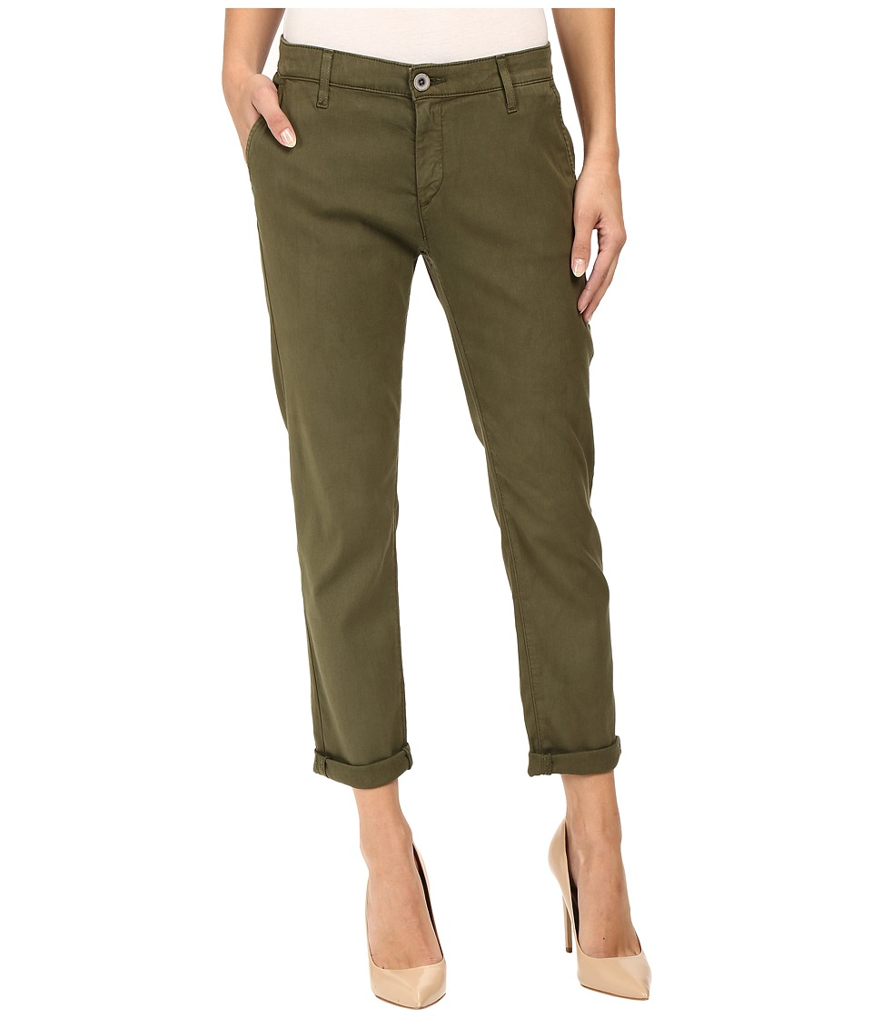 AG Adriano Goldschmied - Caden in Sulfur Palm Green (Sulfur Palm Green) Women's Jeans