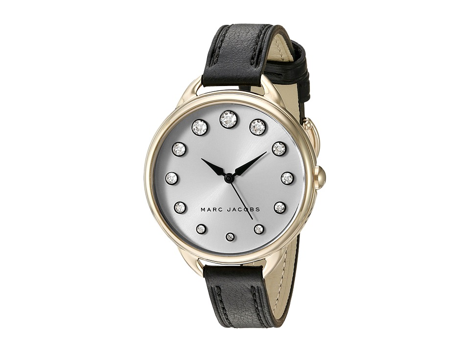 Marc by Marc Jacobs - Betty - MJ1479 (Black/Gold Tone) Watches