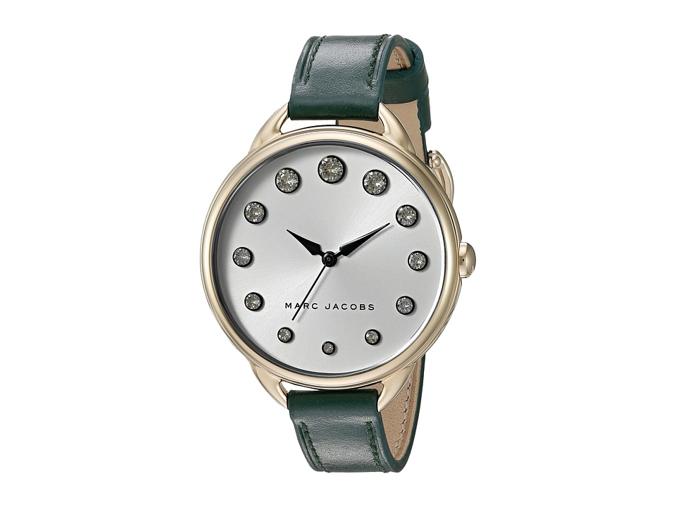 Marc Jacobs - Betty - MJ1477 (Green/Gold Tone) Watches