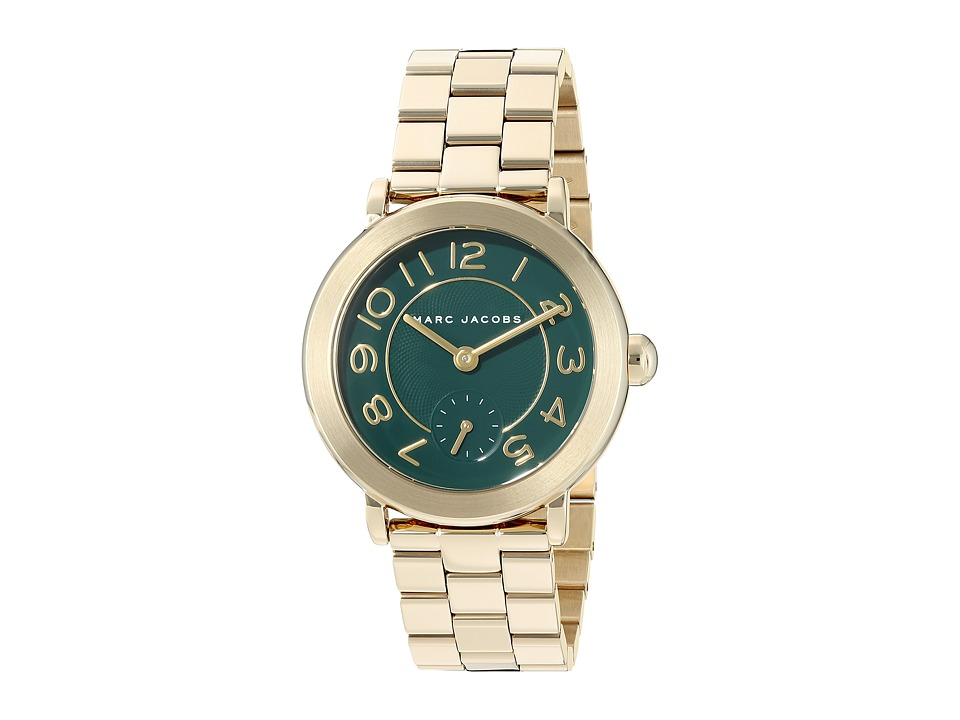 Marc Jacobs - Riley - MJ3488 (Gold Tone) Watches