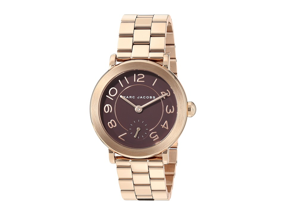 Marc Jacobs - Riley - MJ3489 (Rose Gold Tone) Watches