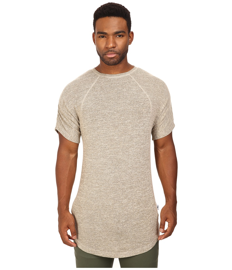 Publish Keon Heathered Short Sleeve Knit Tee (Sand) Men