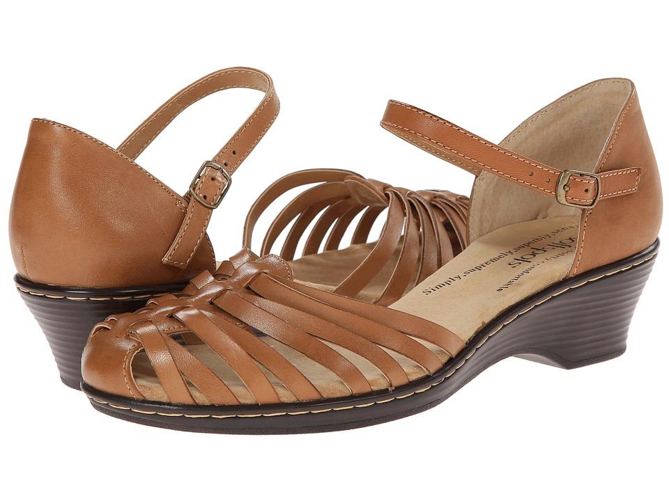Comfortiva - Tatianna - Soft Spots (Lt. Tan) Women's Slip on Shoes