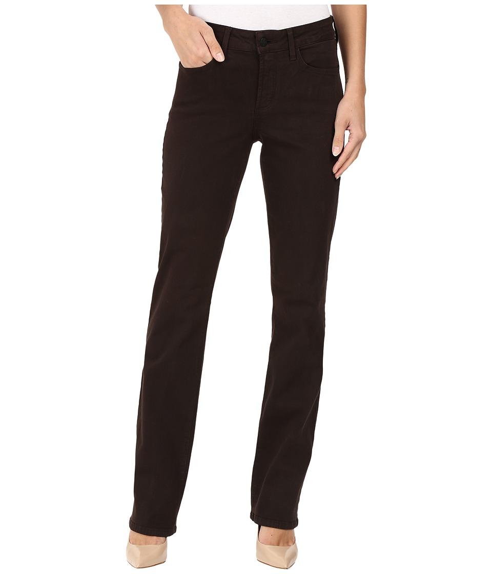 NYDJ - Marilyn Straight Jeans in Mahogany (Mahogany) Women's Jeans