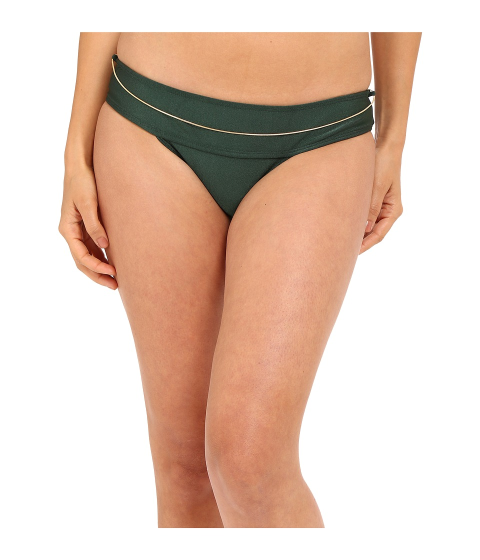 Agua De Coco by Liana Thomaz - Skirt Chain Bottom (Green) Women's Swimwear