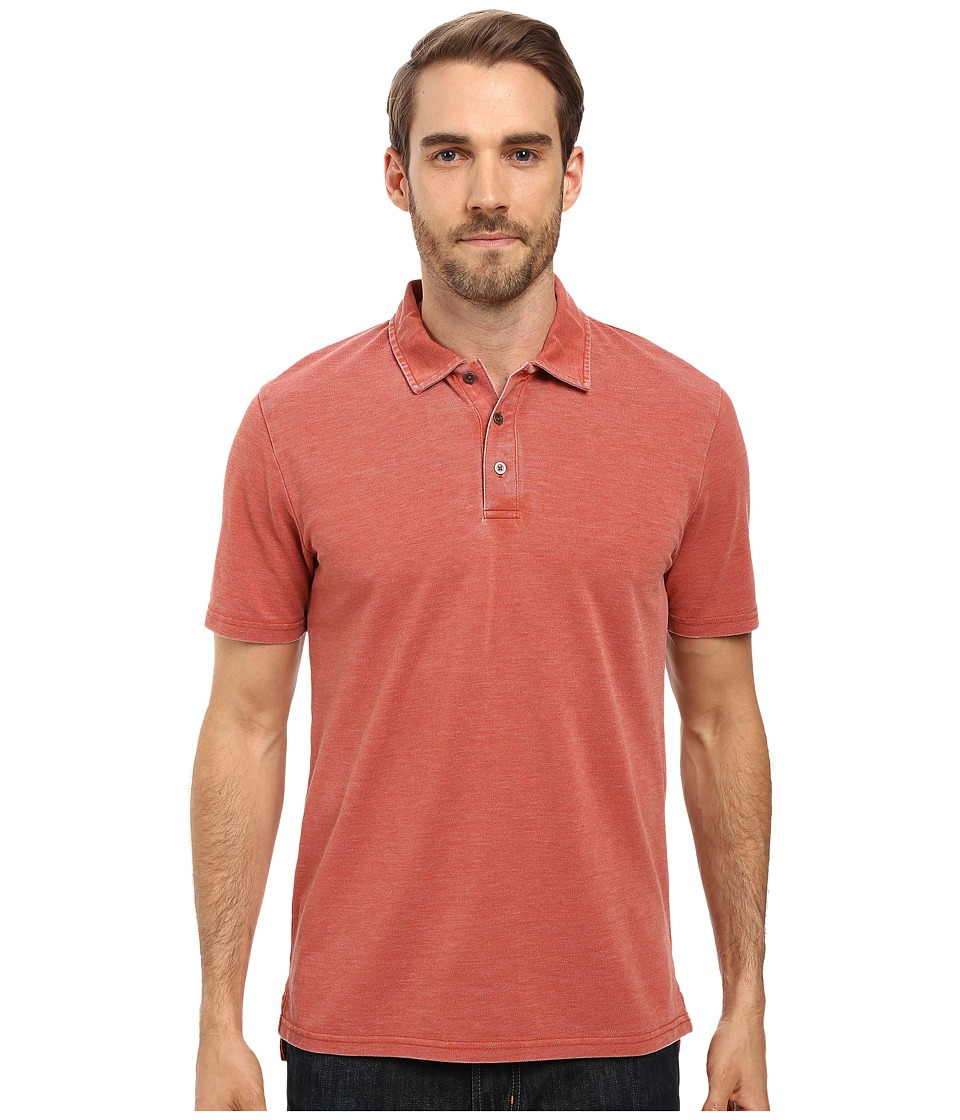 Threads 4 Thought - The Blake Polo (Light Clay) Men's Clothing