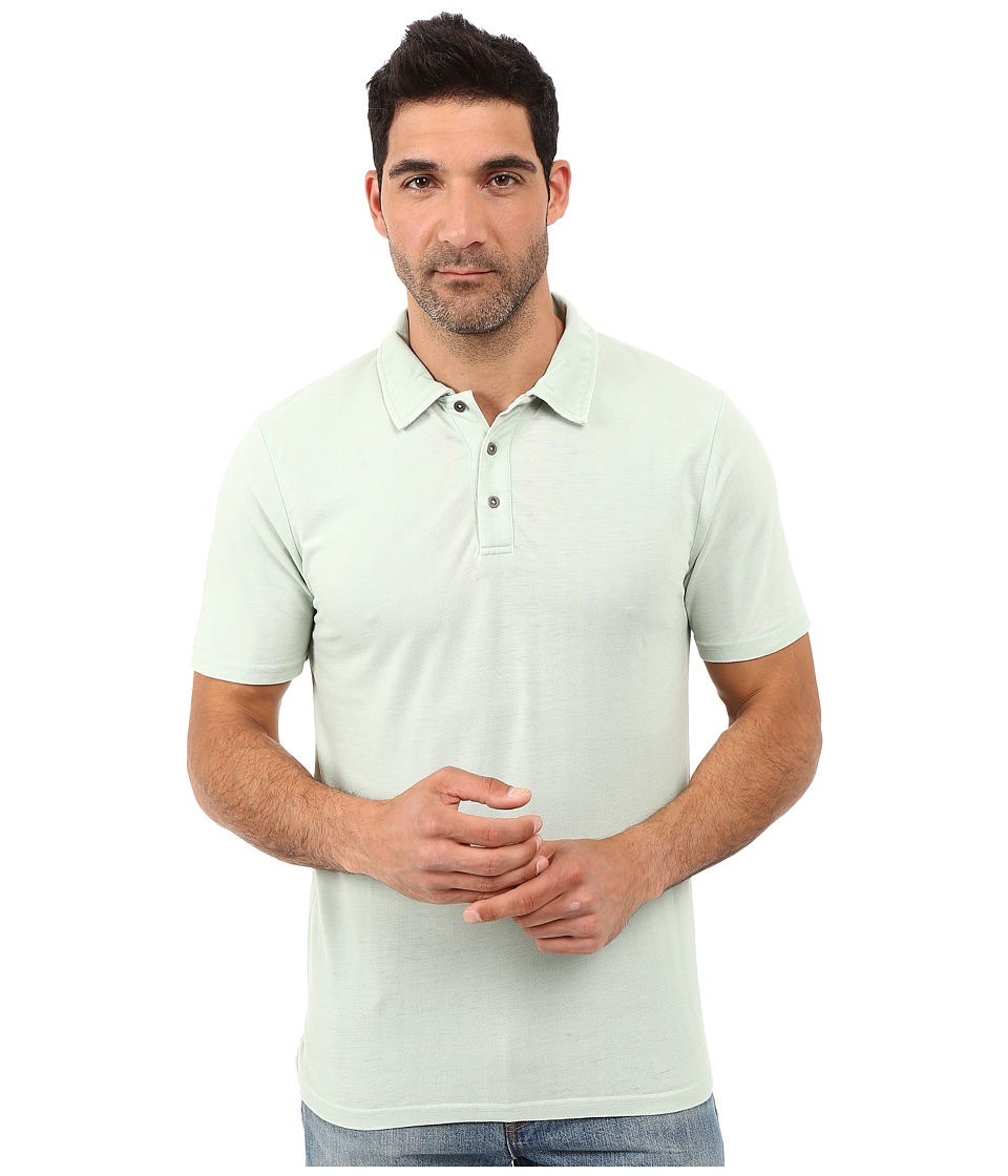 Threads 4 Thought - The Blake Polo (Seafoam Green) Men's Clothing