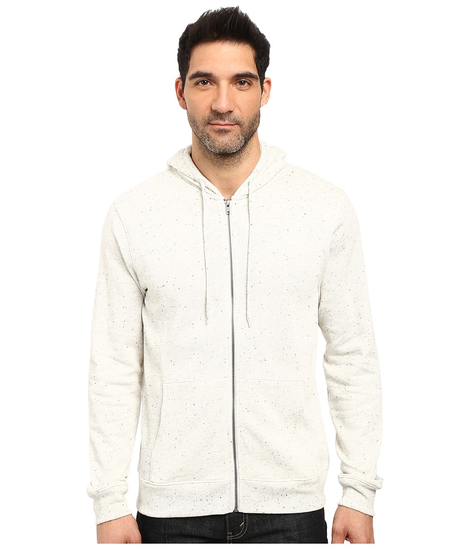 Threads 4 Thought - Tri-Blend Knapp Hoodie (Ash) Men's Sweatshirt
