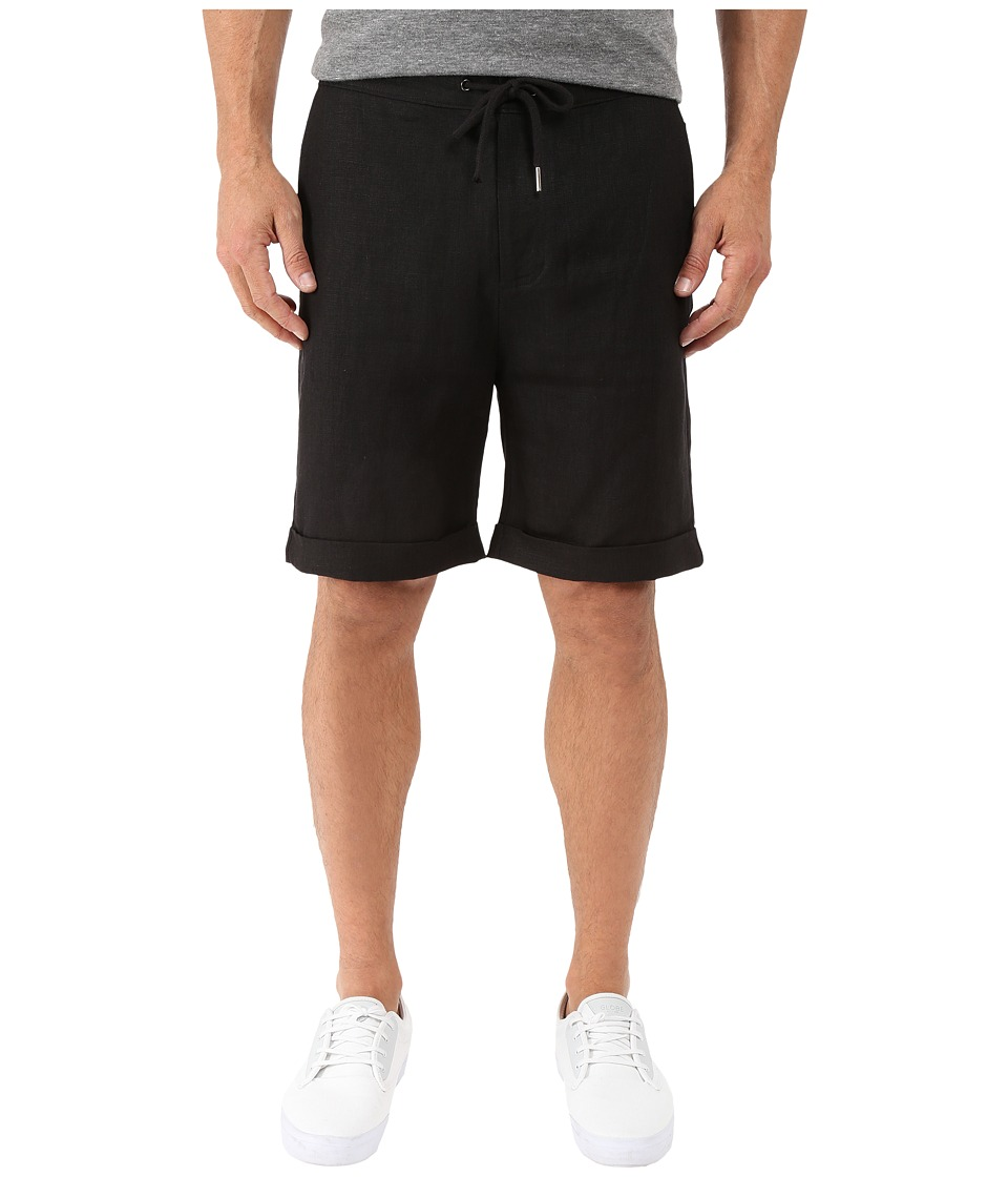 Threads 4 Thought - Hamptons Linen Shorts (Faded Black) Men's Shorts