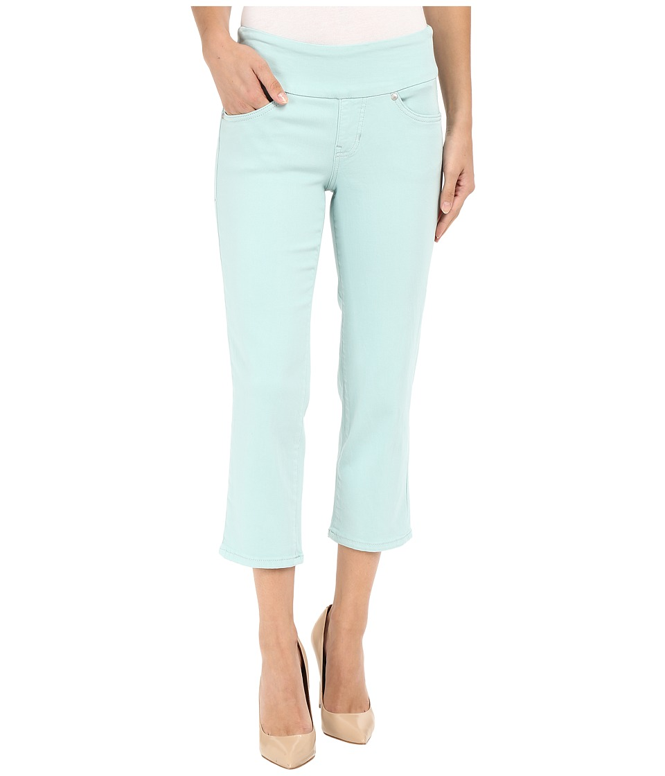 Jag Jeans - Echo Pull-On Classic Fit Crop in Dolce Twill (Ocean Spray) Women's Jeans