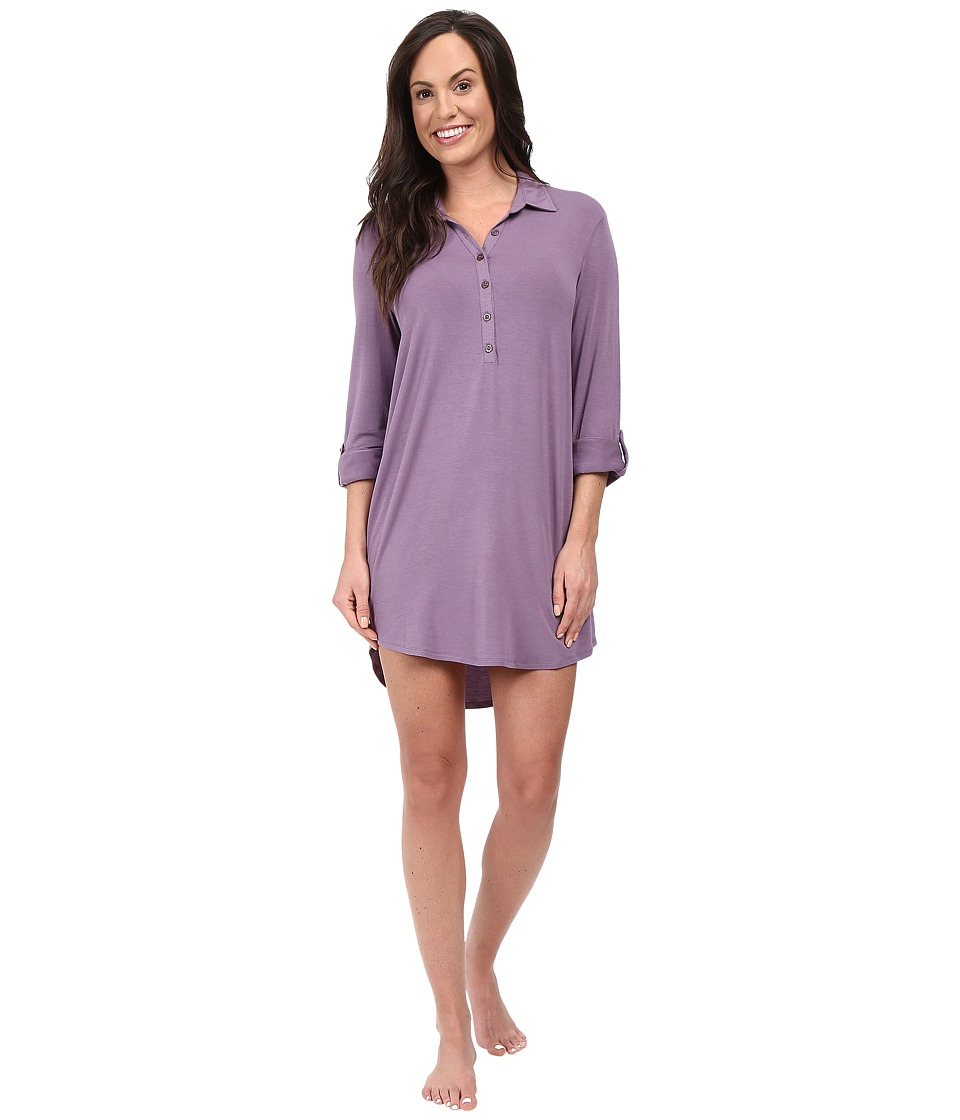 P.J. Salvage - Modal Basic Sleep Shirt (Grape) Women's Pajama