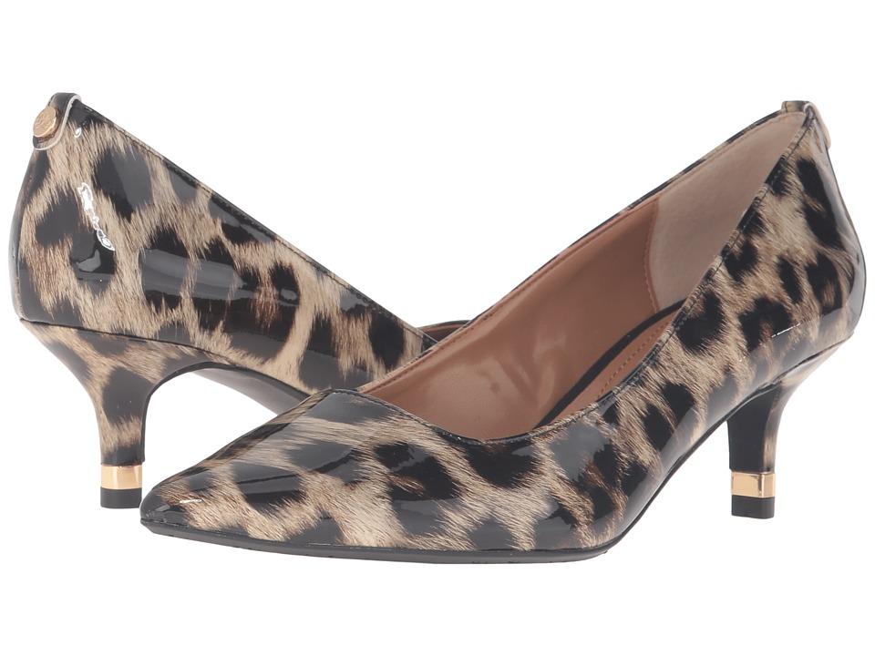 J. Renee - Braidy (Tan/Black) Women's 1-2 inch heel Shoes