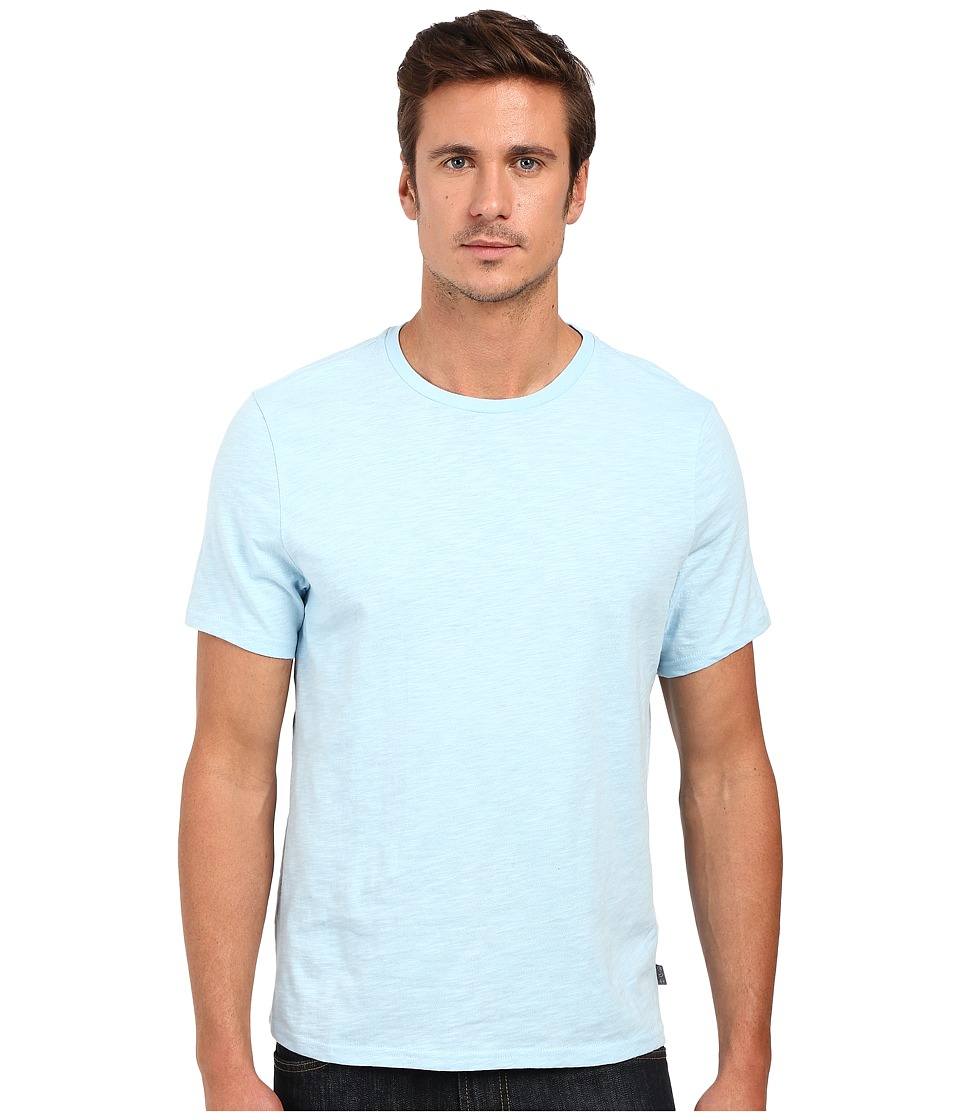 Threads 4 Thought - Banks Slub Cotton Crew Tee (Sky Blue) Men