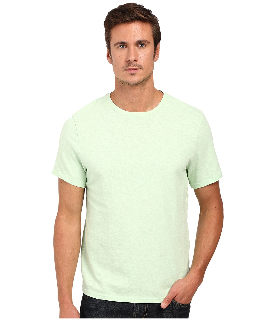 Threads 4 Thought - Banks Slub Cotton Crew Tee (Seafoam Green) Men's T Shirt