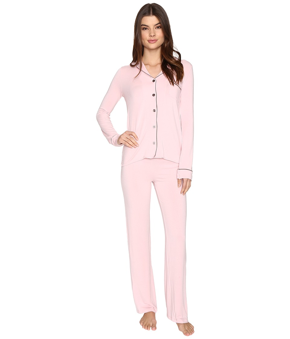 P.J. Salvage - Modal Basics PJ Set (Blush) Women's Pajama Sets