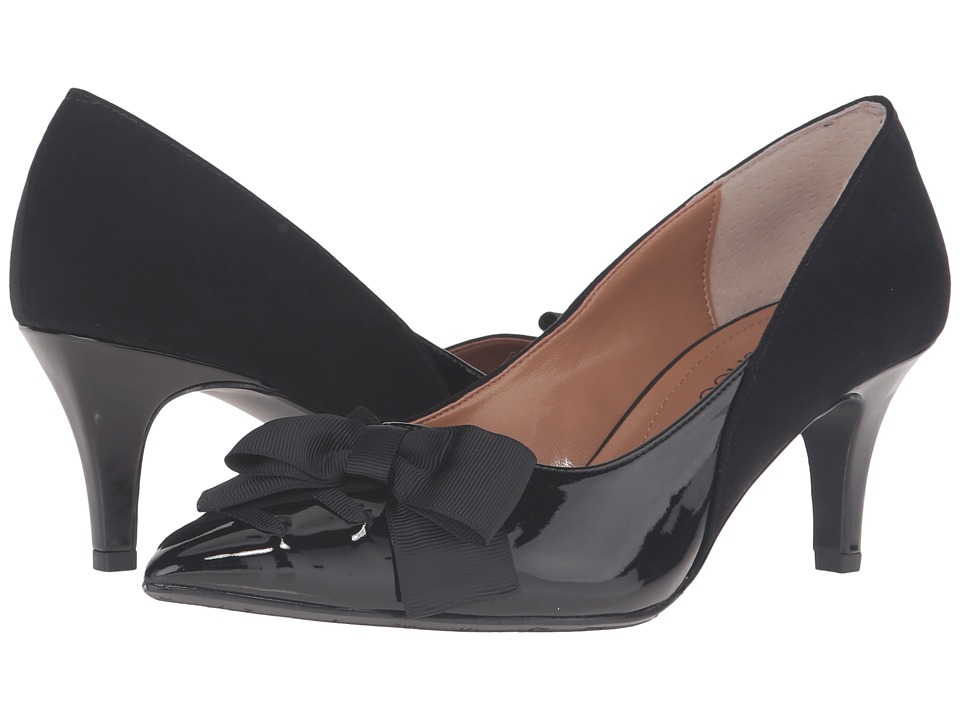 J. Renee - Machealle (Black) Women's Shoes