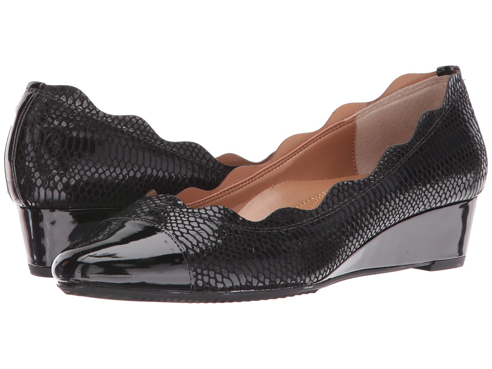 J. Renee - Fedosia (Black/Black) Women's Shoes