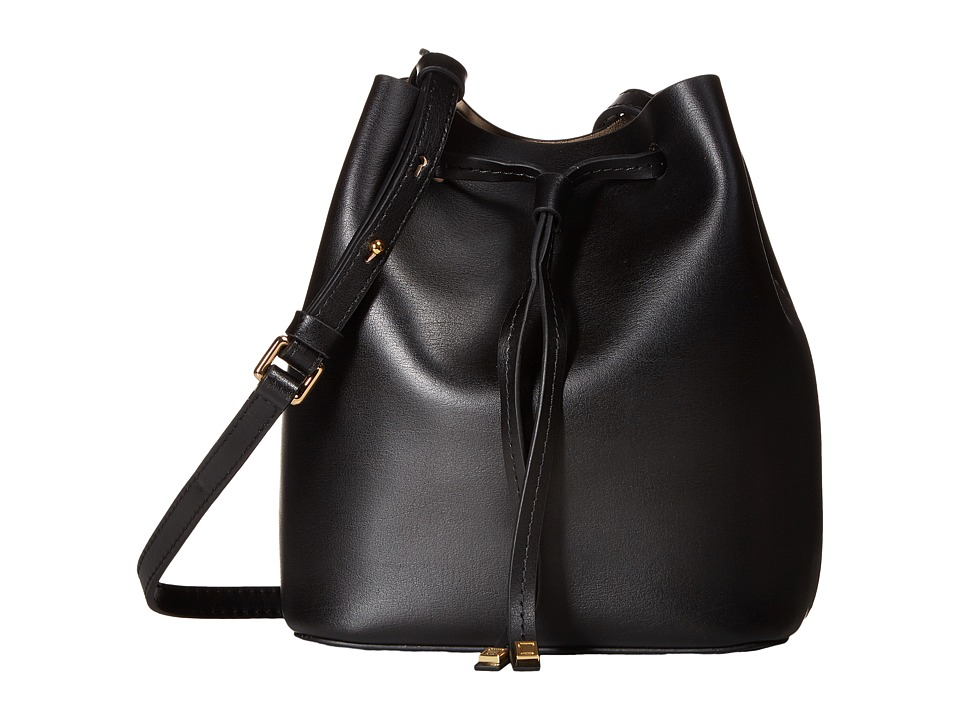 Lodis Accessories - Blair Blake Small Drawstring (Black/Taupe) Drawstring Handbags