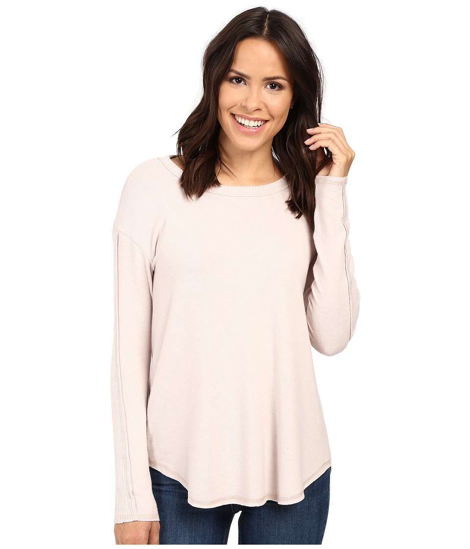 Michael Stars Super Soft Madison Brushed Jersey Crew Neck (Sweet Pea) Women