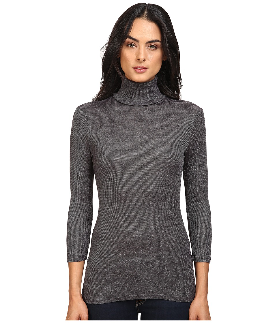 Michael Stars - Elbow Sleeve Turtleneck (Oxide) Women's Clothing