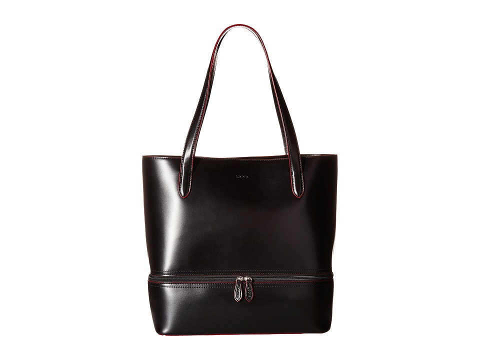 Lodis Accessories - Audrey Amil Commuter Tote (Black) Tote Handbags