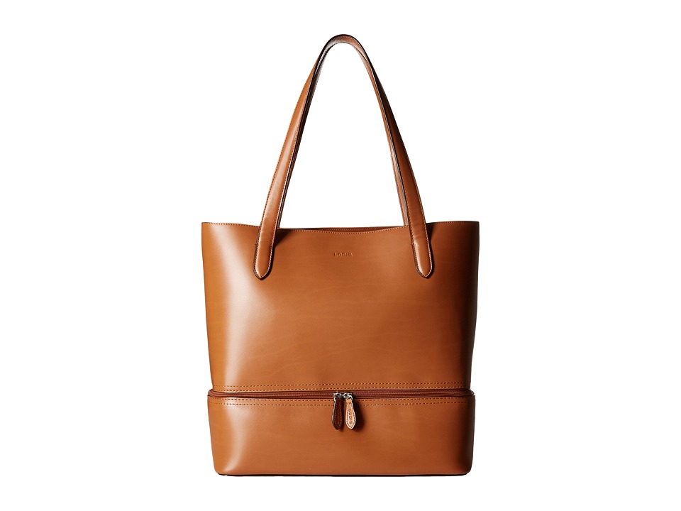 Lodis Accessories - Audrey Amil Commuter Tote (Toffee) Tote Handbags