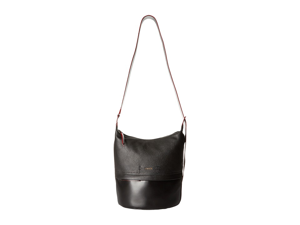 Lodis Accessories - Kate Toby Convertible Bucket (Black) Convertible Handbags