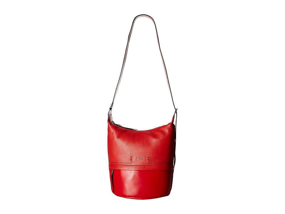 Lodis Accessories - Kate Toby Convertible Bucket (Red) Convertible Handbags
